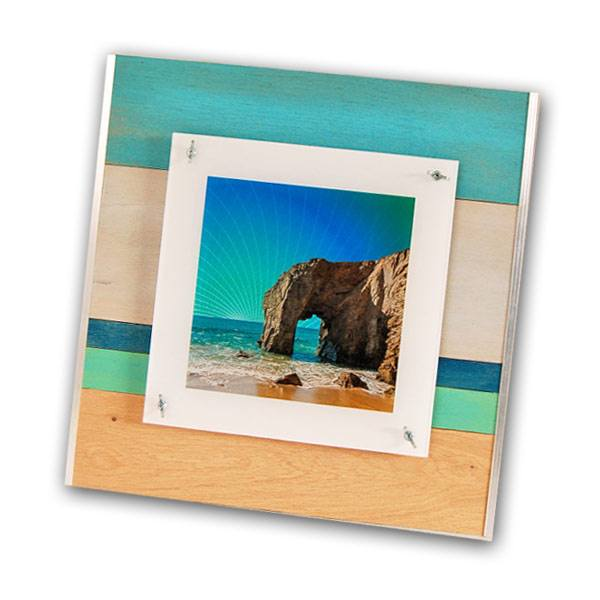 cadre photo plexiglass et bois – illustration